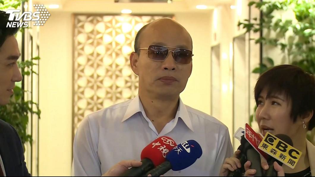 高雄市長韓國瑜。圖/TVBS 「國王新衣」被黃光芹拆穿?他直言:韓就是想選總統
