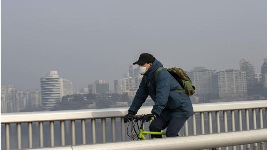 圖/翻攝自koreatimes.co.kr 赴南韓記得戴口罩! 首爾PM2.5四年新高