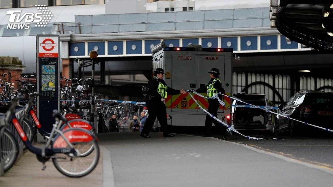 圖/達志影像路透社 倫敦3大交通樞紐收到炸彈包裹 警方展開反恐調查