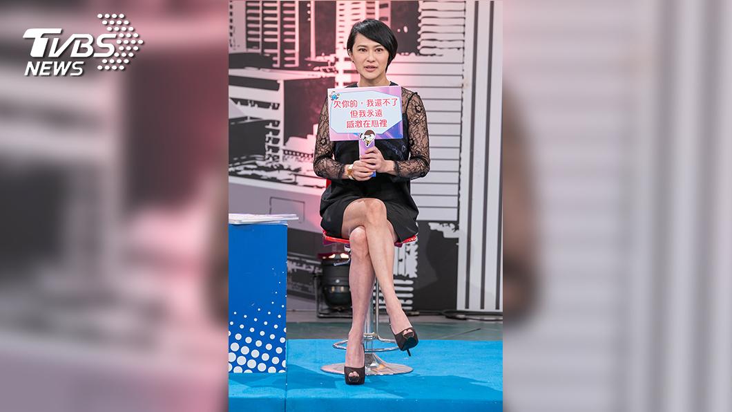 TVBS歡樂台《上班這黨事》邀請章家瑄聊人情債與錢債的過往經驗。(圖/TVBS)