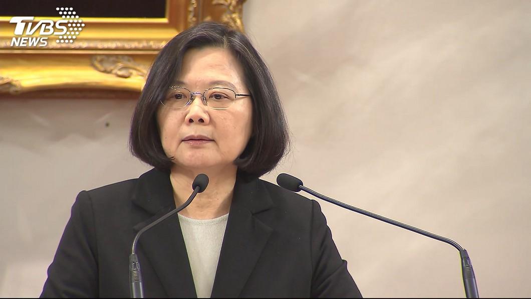 李正皓從民調推測,蔡英文恐成為史上第一位無法連任的現任總統。圖/TVBS