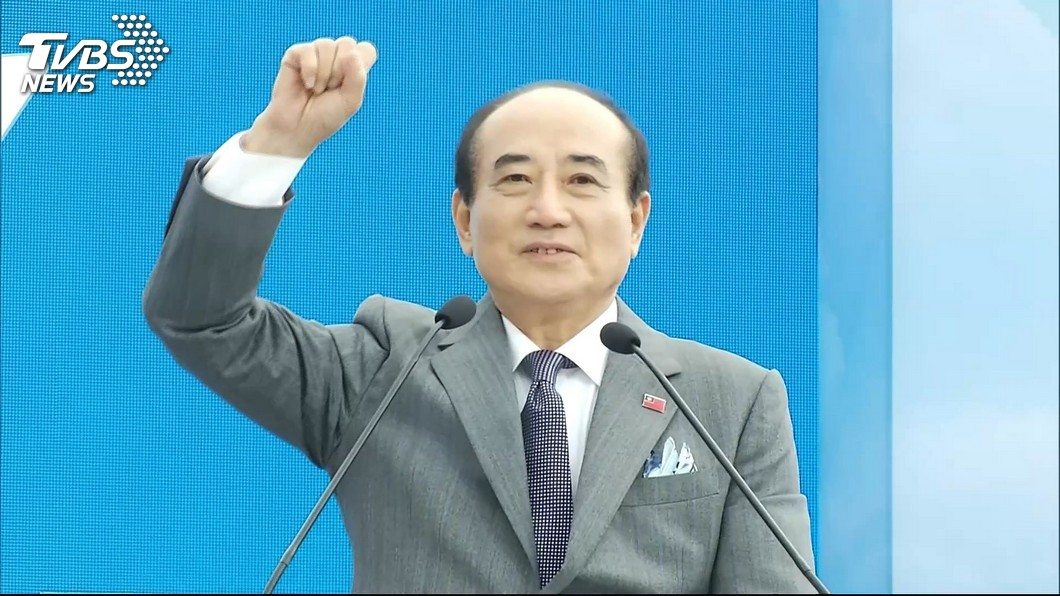 前立法院長王金平7日宣布參選總統。圖/TVBS 王金平要親美友日和中 林濁水批「邏輯在哪?」遭網打臉