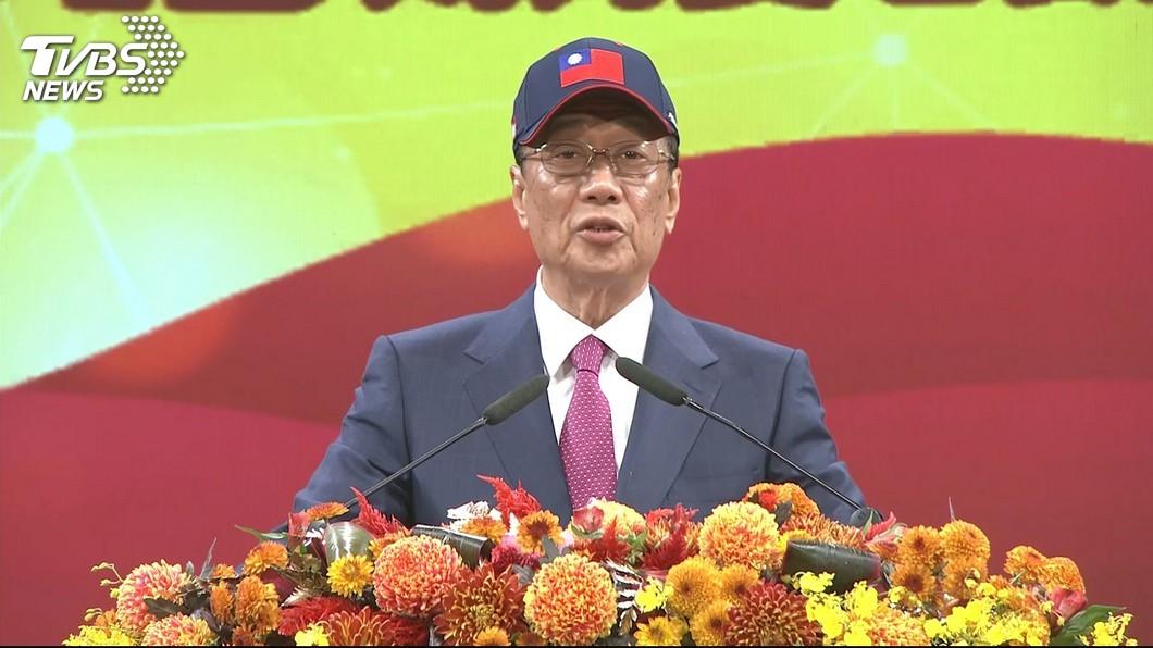 消息傳出,國民黨內部有考慮徵召郭台銘。圖/TVBS資料畫面
