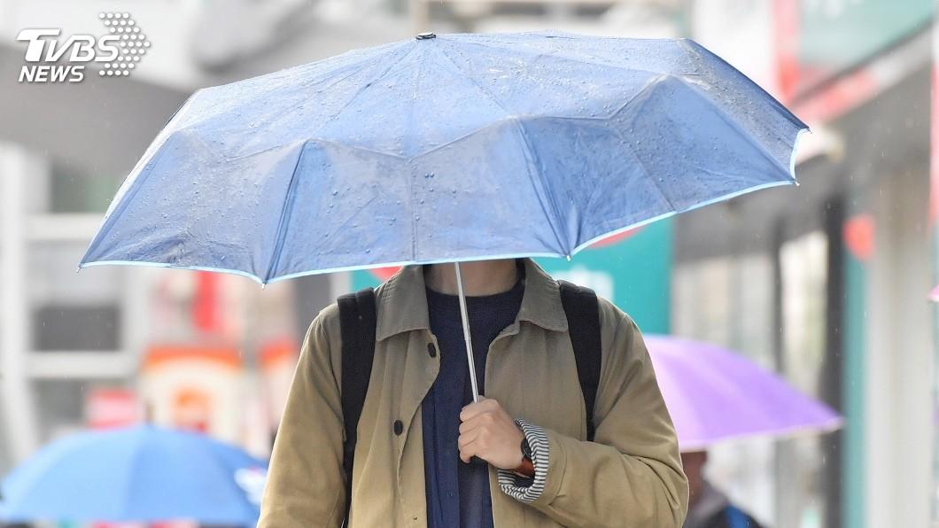傍晚起水氣減少 降雨有減緩趨勢