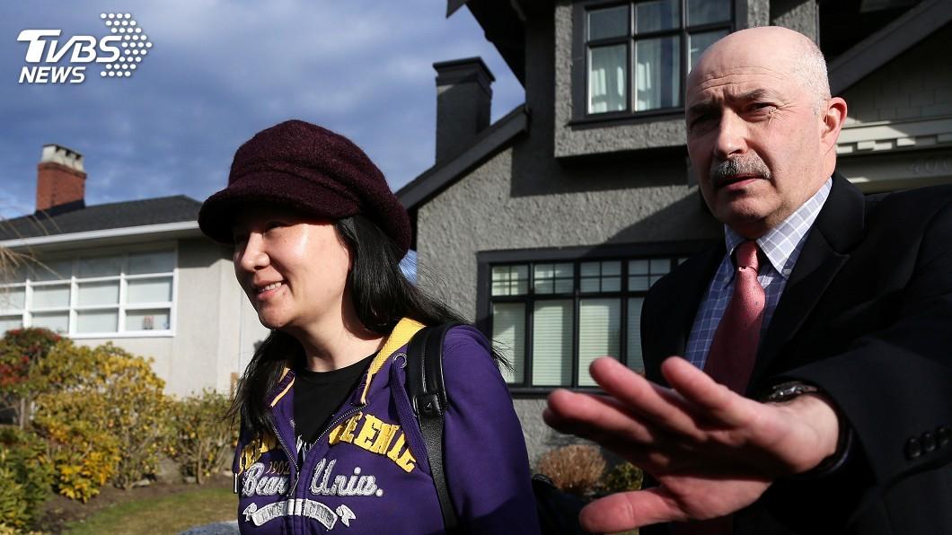 圖/達志影像路透社 美參議員提案 支持加拿大拘押華為孟晚舟