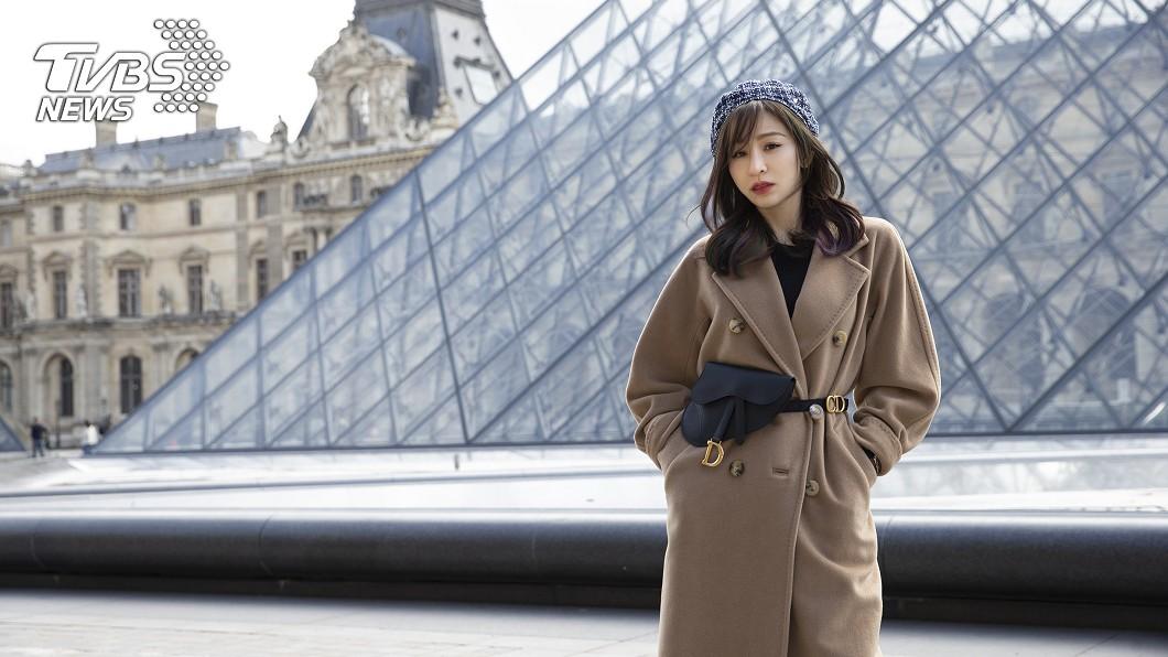 王心凌重赴巴黎一了15年前遺憾。圖/天晴娛樂 惦記「這味」15年! 王心凌重赴巴黎償願