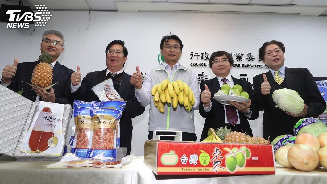 圖/中央社 農產外銷日本捷報! 訂單破23.7億元