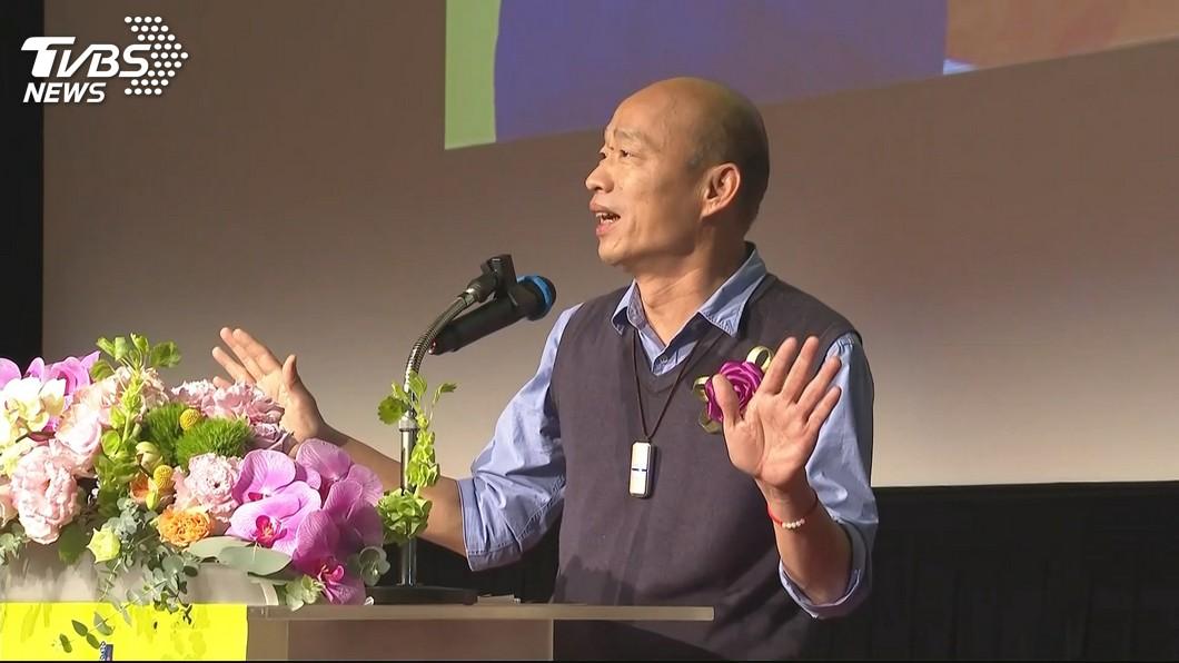 圖/TVBS資料畫面 楊秋興退出國民黨 韓國瑜快閃未回應