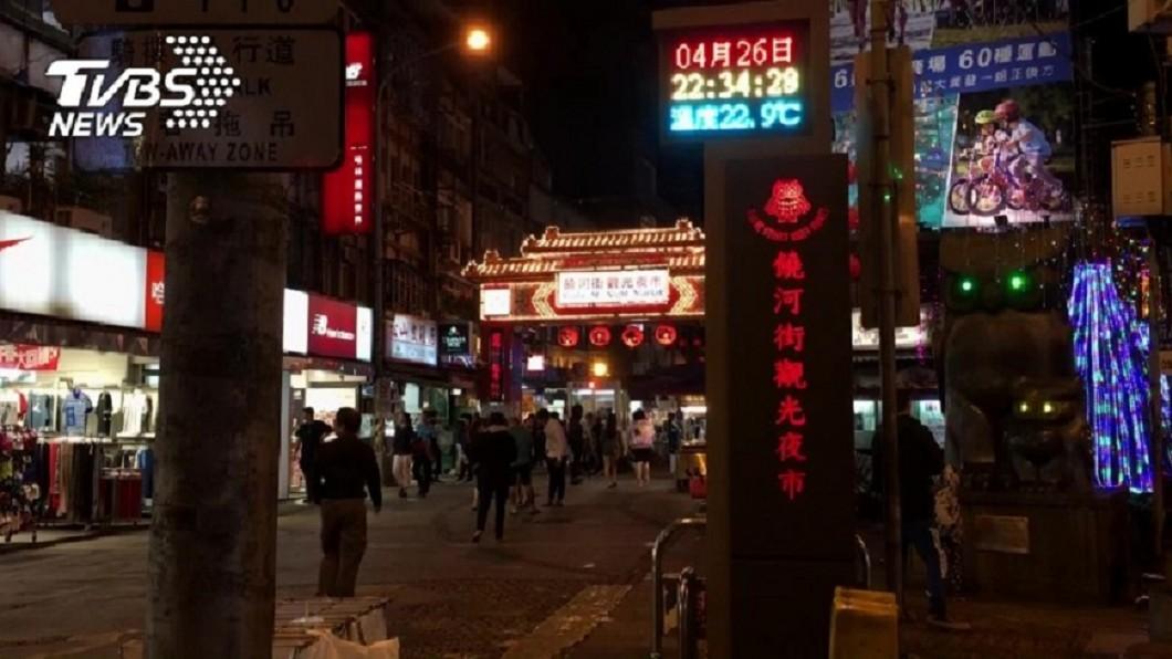 饒河夜市。圖/TVBS 饒河夜市商圈衰退? 議員:台北很快輸高雄!