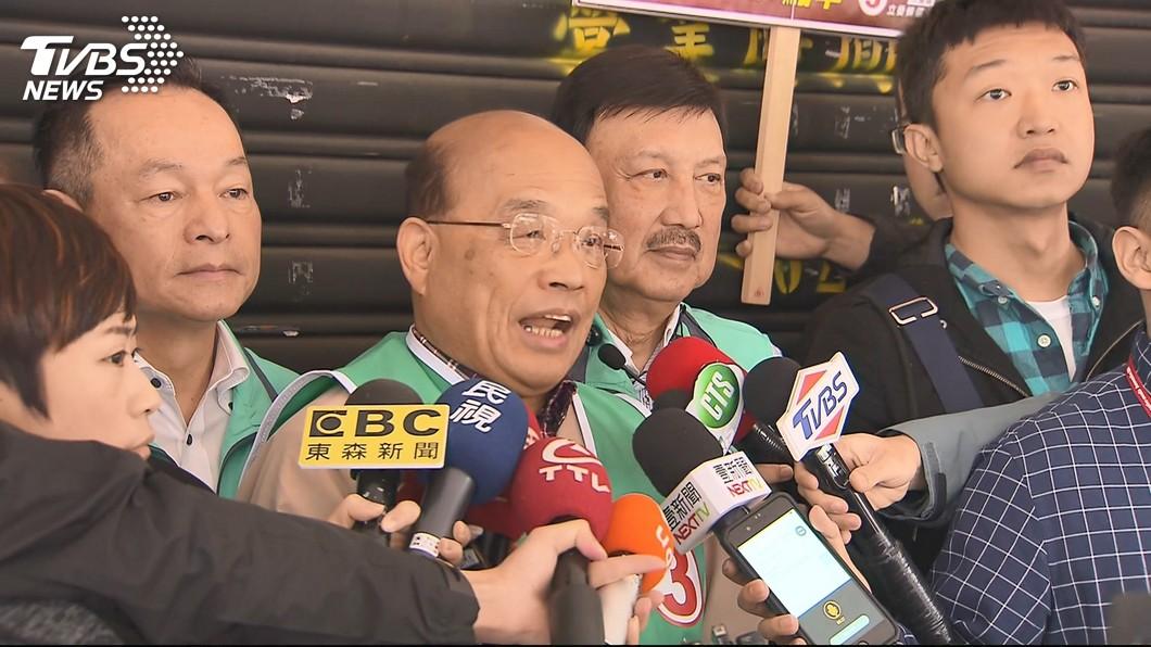 圖/TVBS 打天王牌、恐嚇牌抗韓流! 綠遭對手批老哏