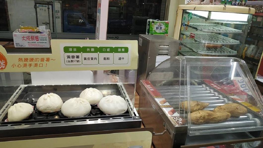 你有發現這些食物擺放的位置有些怪怪的嗎?(圖/翻攝自靠北超商臉書粉絲團)