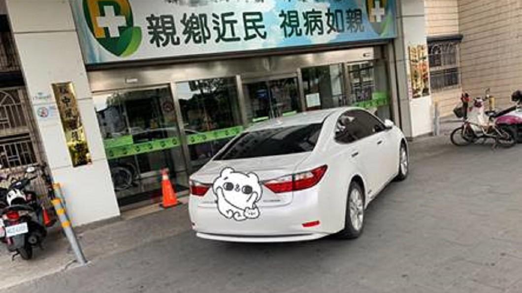 圖/邱豑慶 授權提供 救人第一!麻醉醫車停大門直奔病房 事後被拍照公審