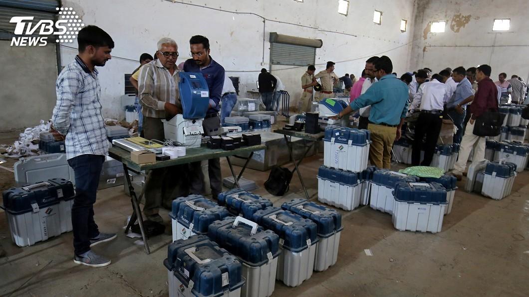 圖/達志影像路透社 近9億人參與的民主盛事 快速掌握印度大選