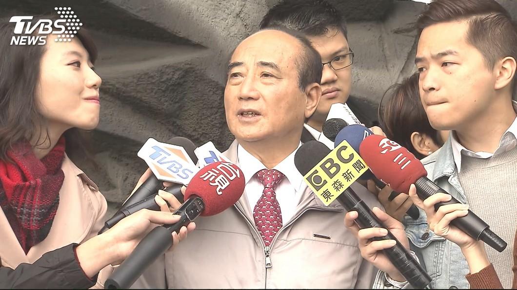 前立法院長王金平11日接受電子媒體專訪,強調自己參選2020必勝的決心。(圖/TVBS) 與韓「心意相通」 王金平稱:若我拜託他不會投朱