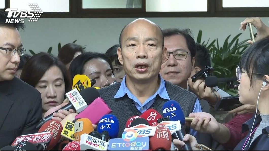 圖/TVBS 蔡政府要抓假新聞!韓國瑜:我被某媒體弄成黑人怎不罰