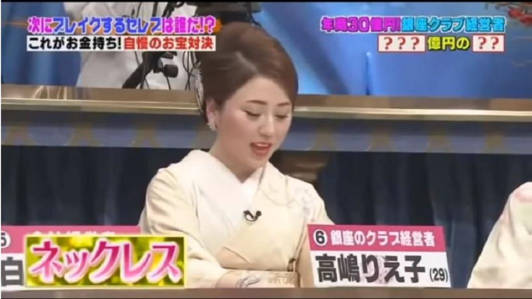 高嶋理惠子自學苦讀12國語言,並憑藉著高超的交際手腕,讓她一躍成為大紅牌。(圖/翻攝自YouTube)