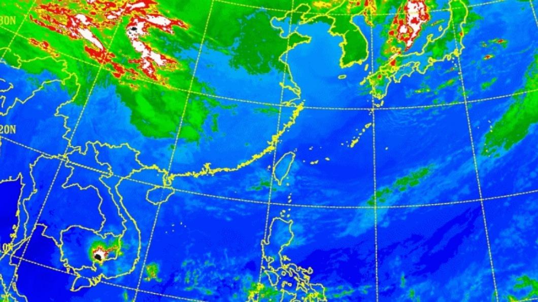 圖/翻攝自中央氣象局 今晚變天!15日明顯轉冷、17日雨勢逼台 全台受影響