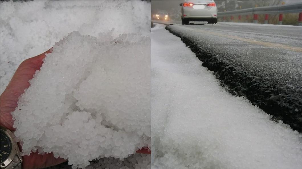 圖/翻攝自臉書「合歡山玩雪團」