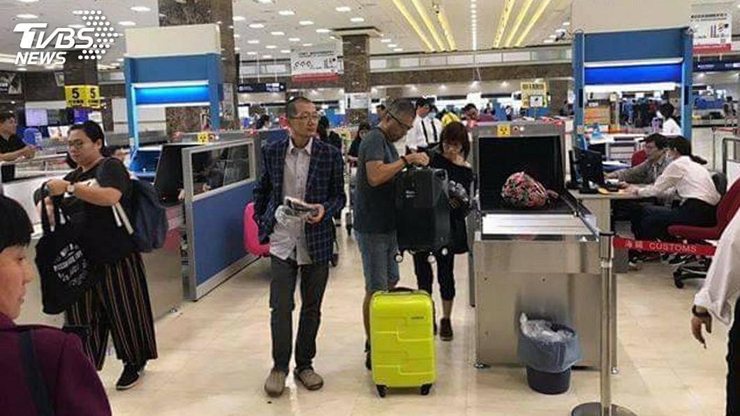 圖/中央社 防堵非洲豬瘟 高雄台南機場增3部X光機