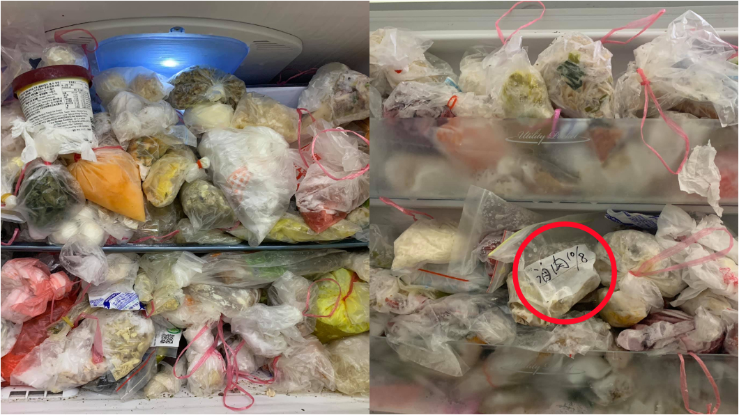 網友發現該包滷肉已經在去年10月8日就過期了。圖/翻攝臉書爆廢公社