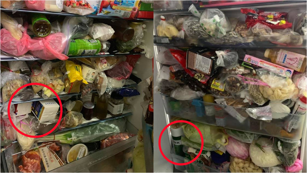 網友幫忙找到梅酒與牛奶。圖/翻攝臉書爆廢公社