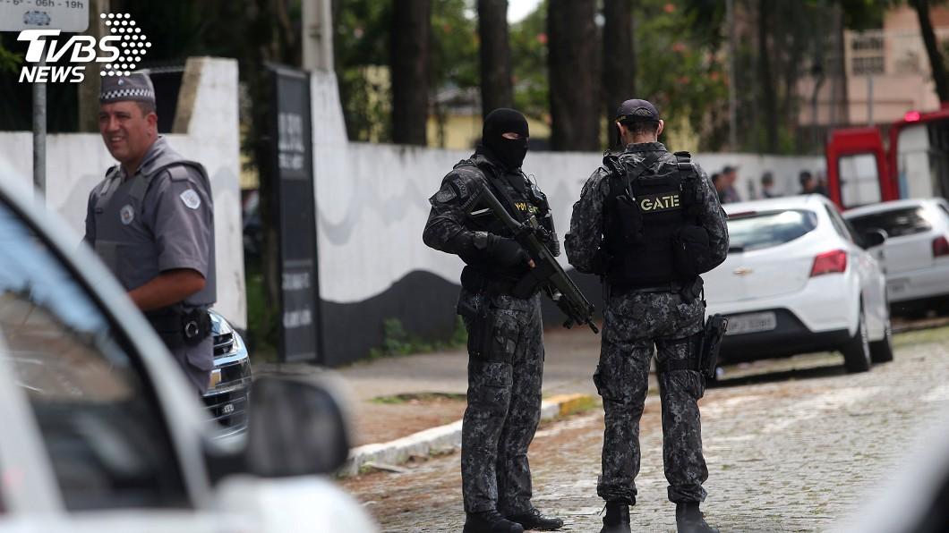 圖/達志影像路透社 巴西驚傳校園槍擊案 2槍手大開殺戒動機尚不明