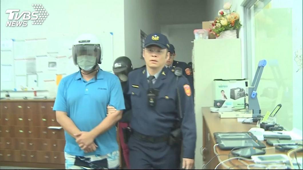 圖/TVBS 虐死1歲女童3被告移審 地院裁定羈押