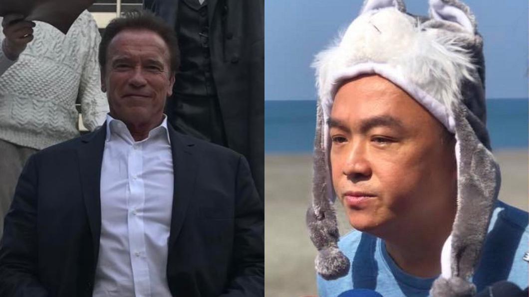 翻攝/Arnold Schwarzenegger IG、潘恆旭臉書 「魔鬼阿諾」訪高雄又沒下文?潘恆旭:會再追進度