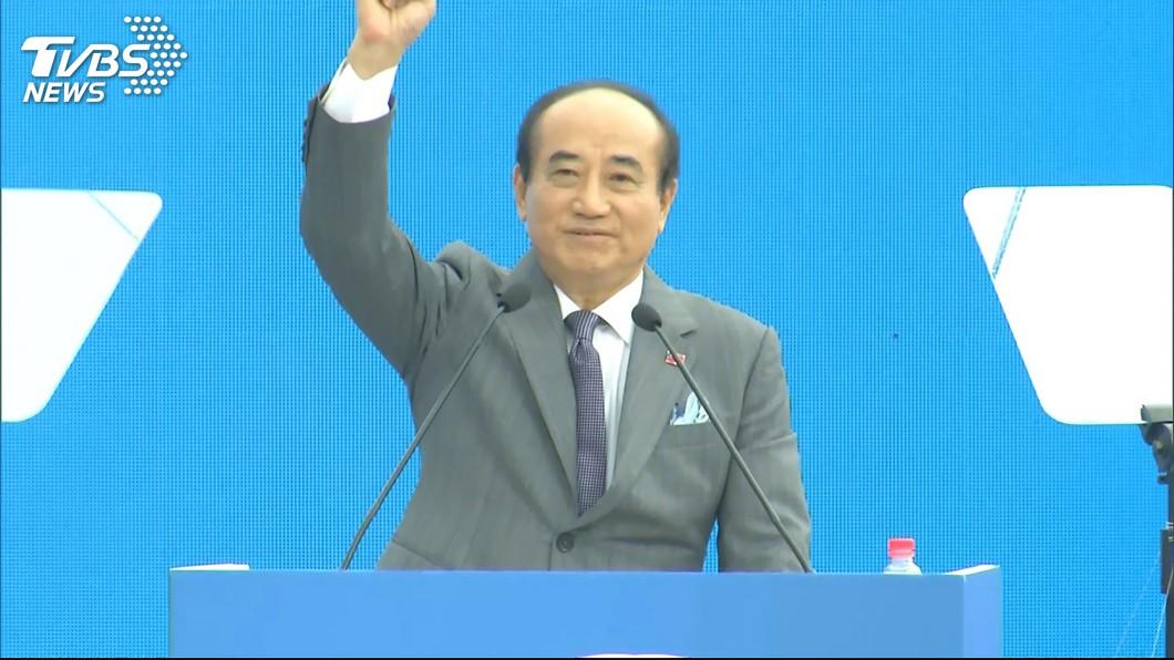 王金平宣示參選2020總統大位的決心,並表示絕對不會當副手。(圖/TVBS) 黨內同志拋韓王配?王金平:參選到底絕不當副手