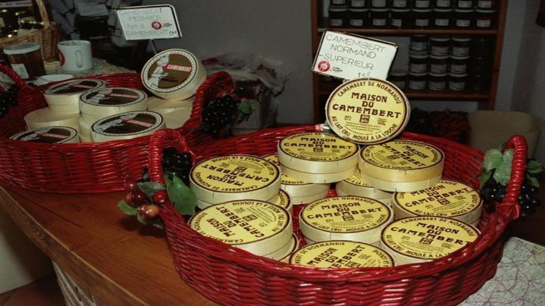 圖/達志影像路透 法國國會大事 循古法「卡芒貝爾乳酪」生存戰