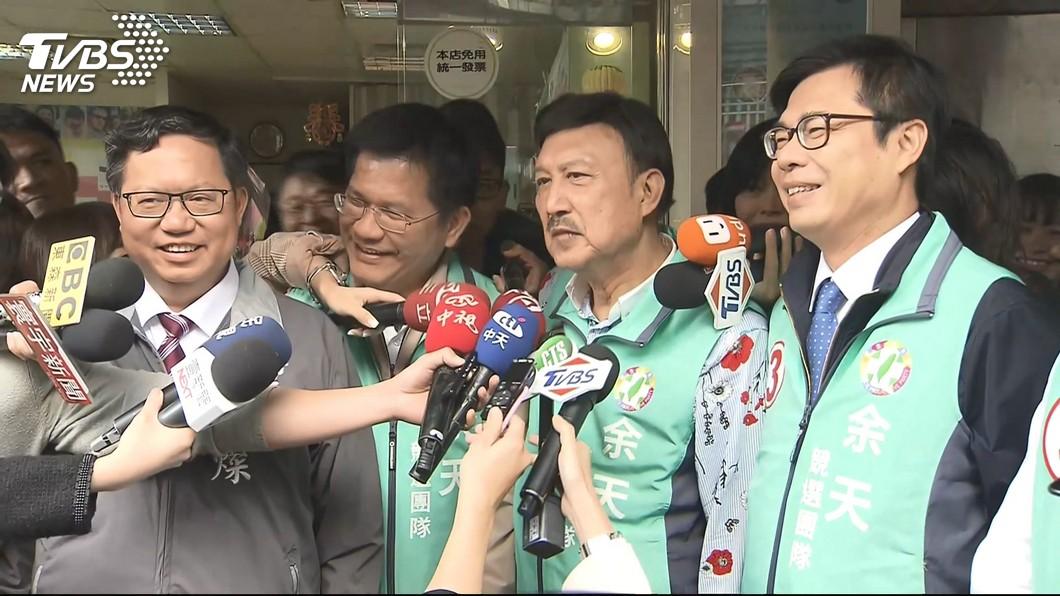 圖/TVBS 韓冰幫助選「擾民」?陳其邁:政治、經濟都0分