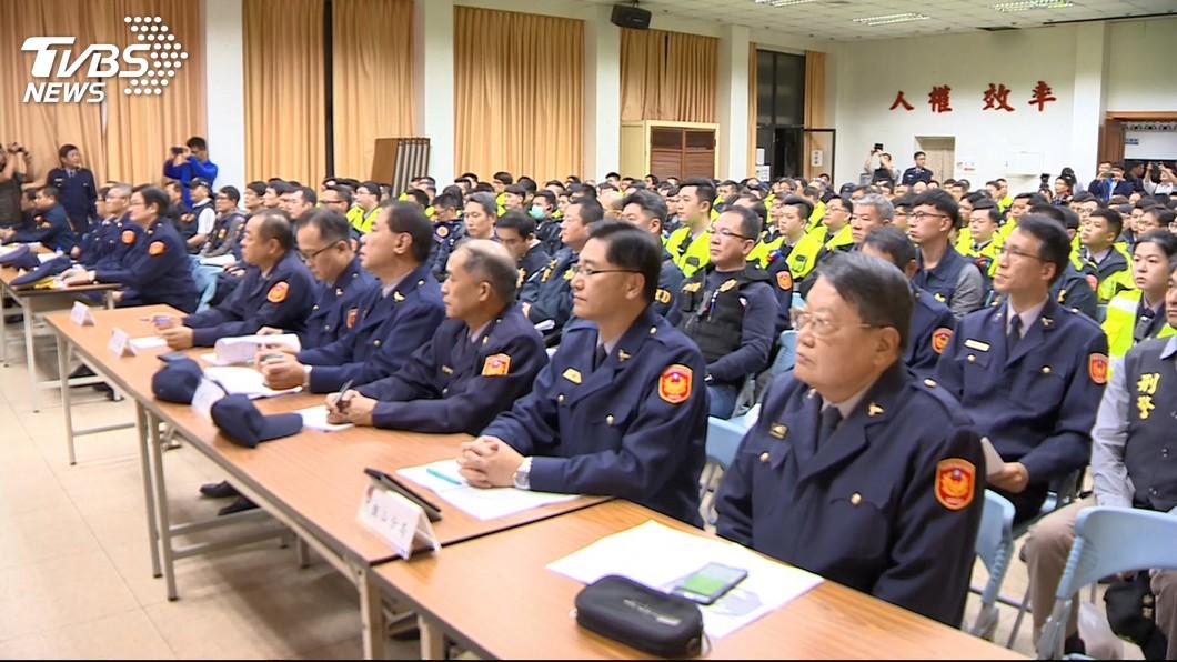圖/TVBS 高市傳街頭暴力事件 警局公關室主任遭拔官下台