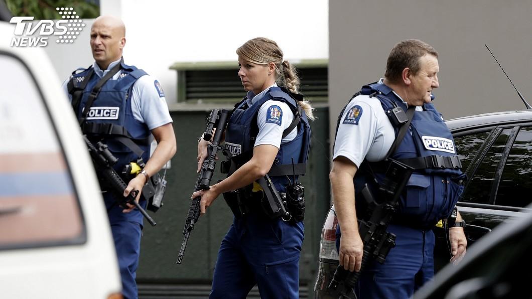 圖/達志影像美聯社 紐西蘭一處清真寺驚傳槍擊 恐死傷慘重