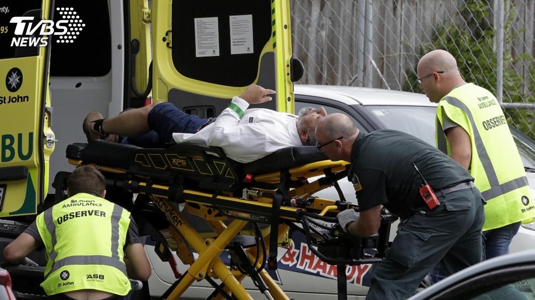 圖/達志影像美聯社 澳洲男跨海紐國開殺戒 邊開槍殺人邊直播