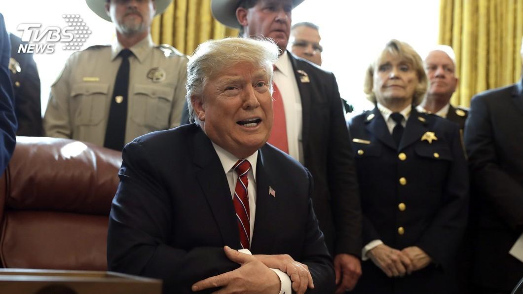 圖/達志影像美聯社 首度動用否決權 川普推翻國會決議以獲築牆經費