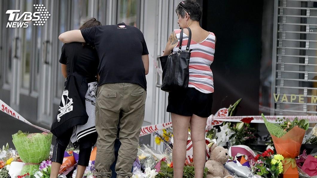 圖/達志影像美聯社 紐國清真寺槍擊49死 目擊者:遍地遺體