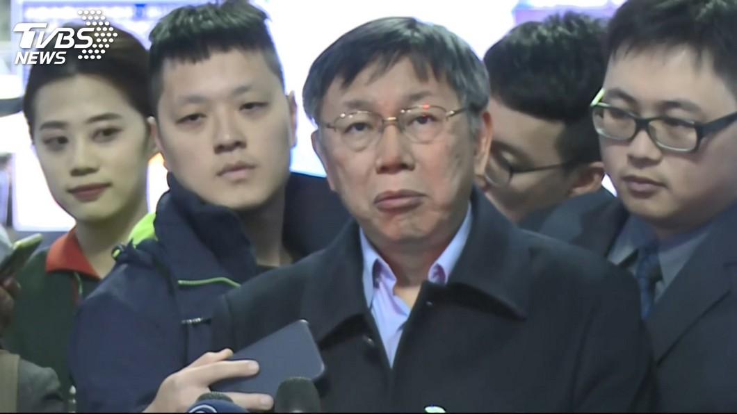 圖/TVBS 民進黨保二成功「韓流退燒了」? 柯P:威力還是很強