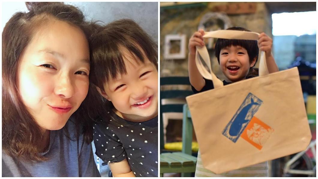 圖/翻攝六月臉書 六月曝「兒2歲前不太說話」 淚談遲緩兒:我神經太大條