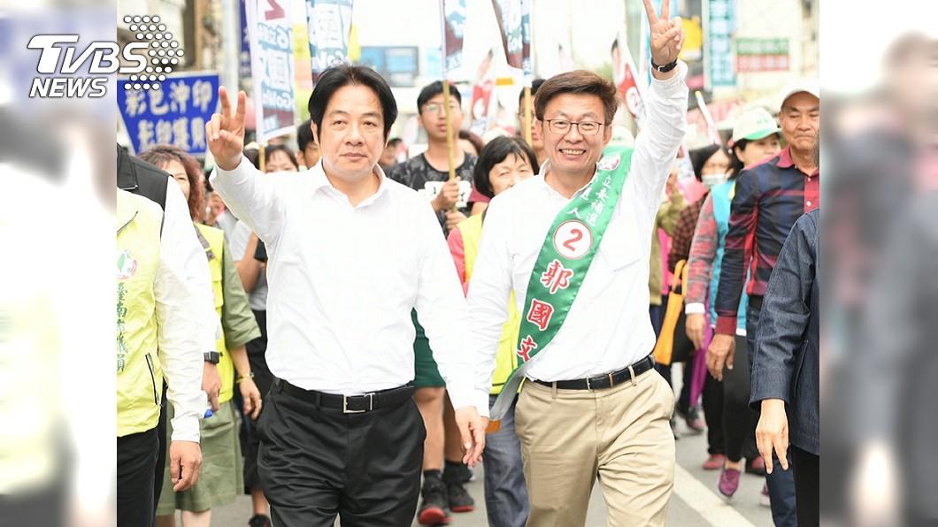圖/中央社 遭指助選郭國文 陳水扁、賴清德、中監都被告