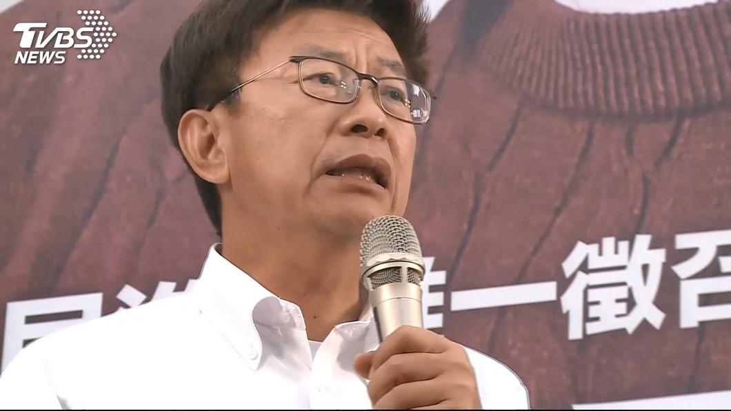 民進黨的郭國文在台南立委補選這一席擊敗國民黨的謝龍介。(圖/TVBS)