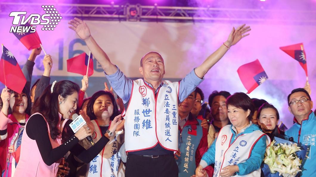 高雄市長韓國瑜。圖/中央社