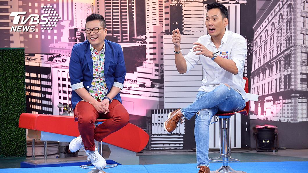 TVBS歡樂台《上班這黨事》邀請明星分享演藝路上的甘苦。艾力克斯特別感謝貴人沈玉琳。圖/TVBS