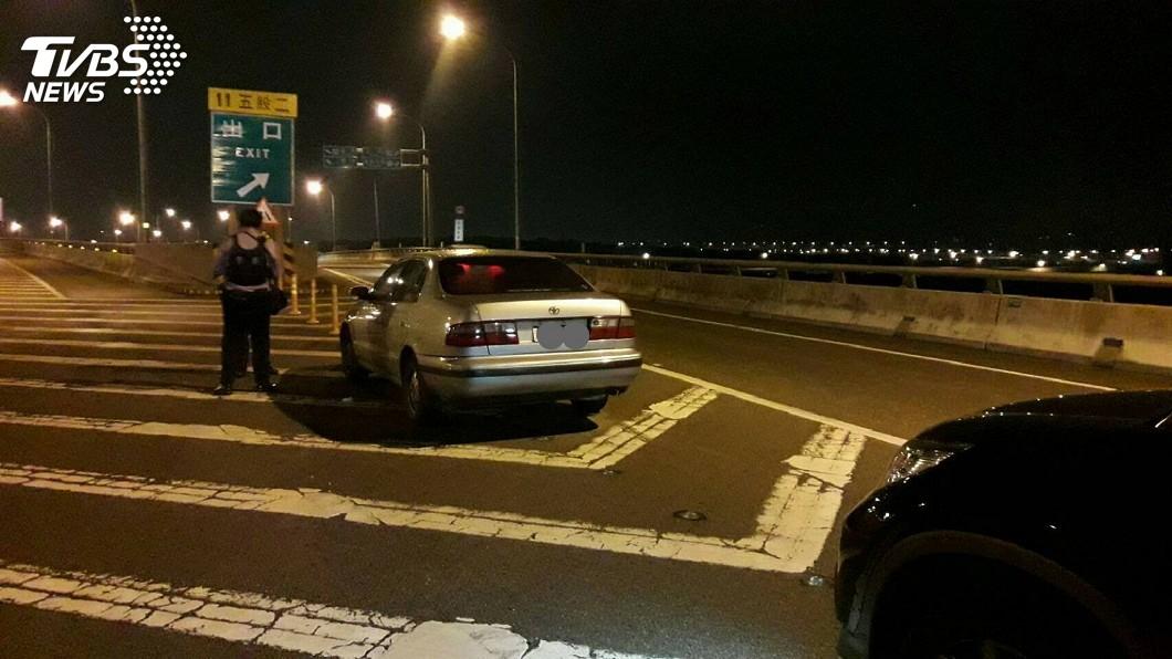 圖/中央社 五股傳女子從台64快速道路墜下 送醫不治