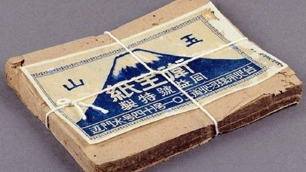 網友分享了自己阿公阿嬤時代的衛生紙模樣。(圖/翻攝自爆怨公社)