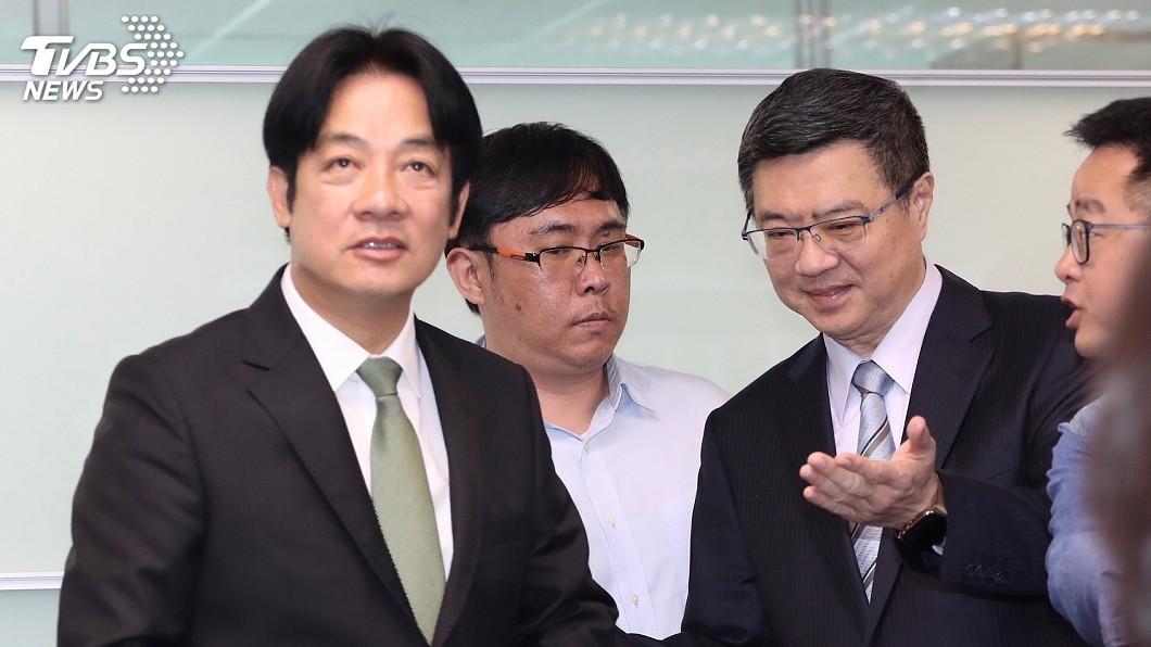 圖/中央社 賴神戰小英 前民進黨發言人:基層不解又焦慮