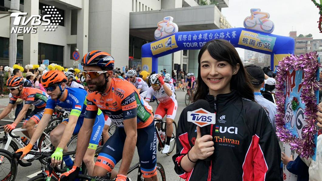 圖/TVBS 《國際自由車環台公路大賽》 攝影技術獲網友大讚