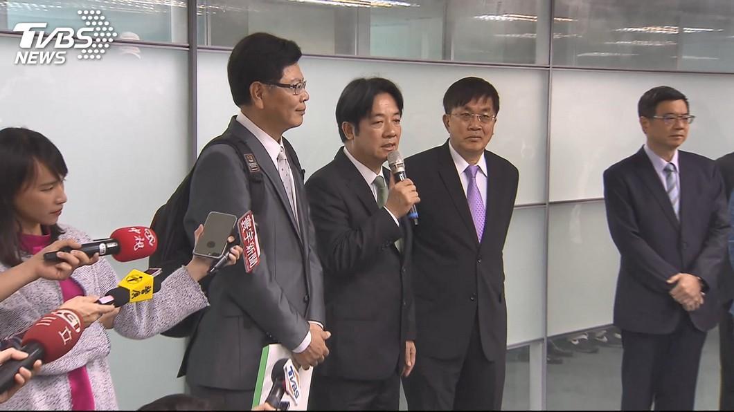 圖/TVBS 清流抗韓流?賴清德宣布參加黨內總統初選