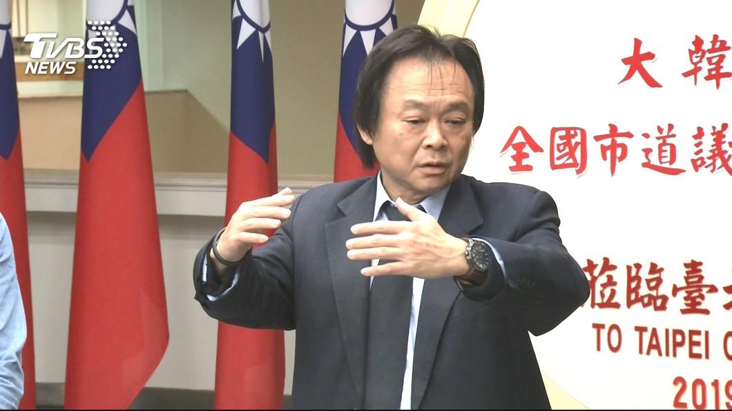 圖/TVBS 賴清德初選 王世堅「震撼」 林右昌PO震驚
