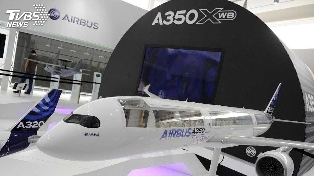 圖/達志影像美聯社 空中巴士A350XWB 先進環保受青睞