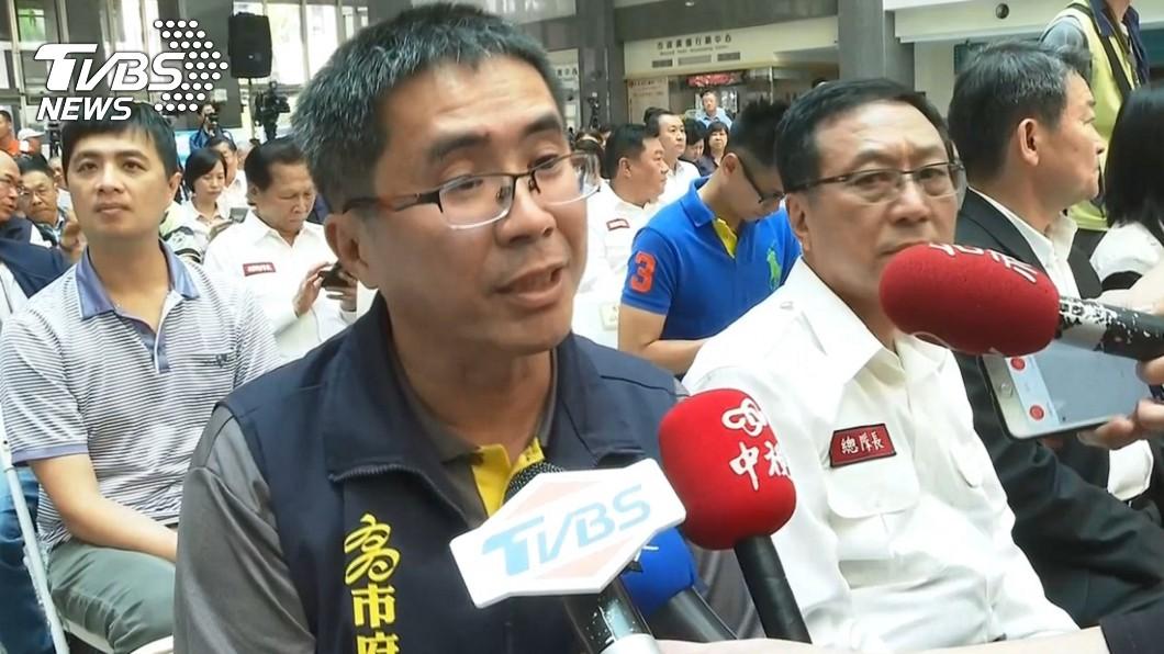 高雄市環保局副局長謝汀嵩。圖/TVBS